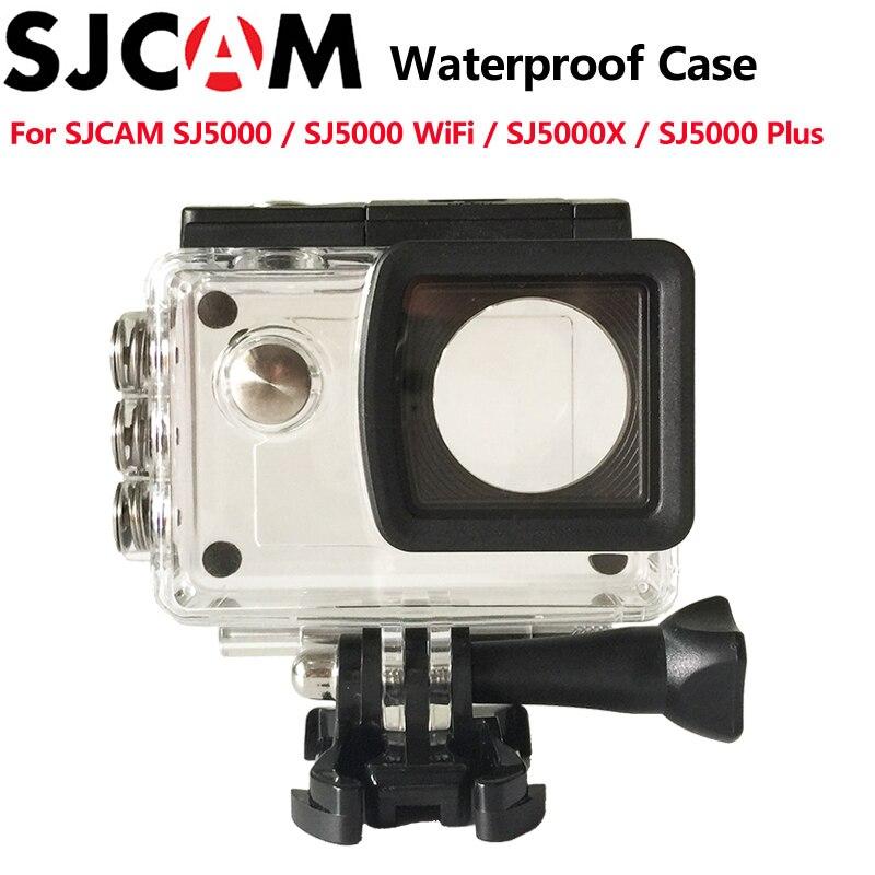SJCAM accesorios Caja impermeable 30 m buceo para SJ5000/SJ5000 WIFI SJ5000 más SJ5000X elite acción Cámara