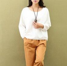 Autumn new style women blouse mori girl Soft cotton white shirts fresh cute design shirt undershirt