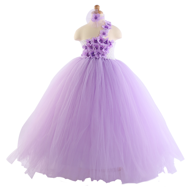 Purple Evening Dresses Kids Princess Party Wedding Dress Costume S Children Clothing Tt0017 In From Mother On Aliexpress Alibaba
