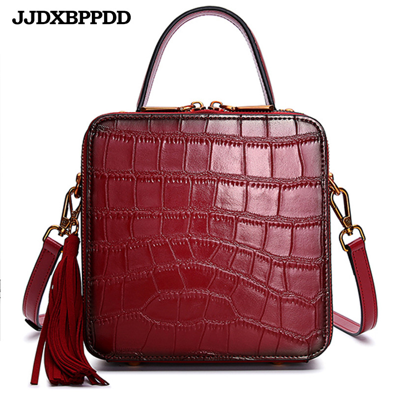 Nouveau luxe femmes en cuir véritable sac à bandoulière dames sacs à main qualité marque rabat sacs de messager femme petit fourre-tout sac à bandoulière