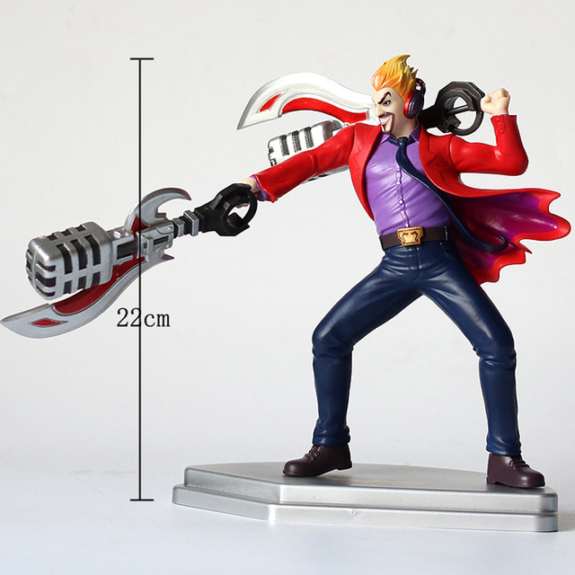 LOL League of Legends figure Action Game Draven Glorious Executioner Character Model Toy Action 3D Game Heros anime party Gift 3