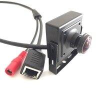 POE Fisheye HD 1920 x 1080P 2.0MP Security Mini Type Indoor 3516C+2135 IP Camera Metal Camera ONVIF P2P XMeye IP CCTV Cam System