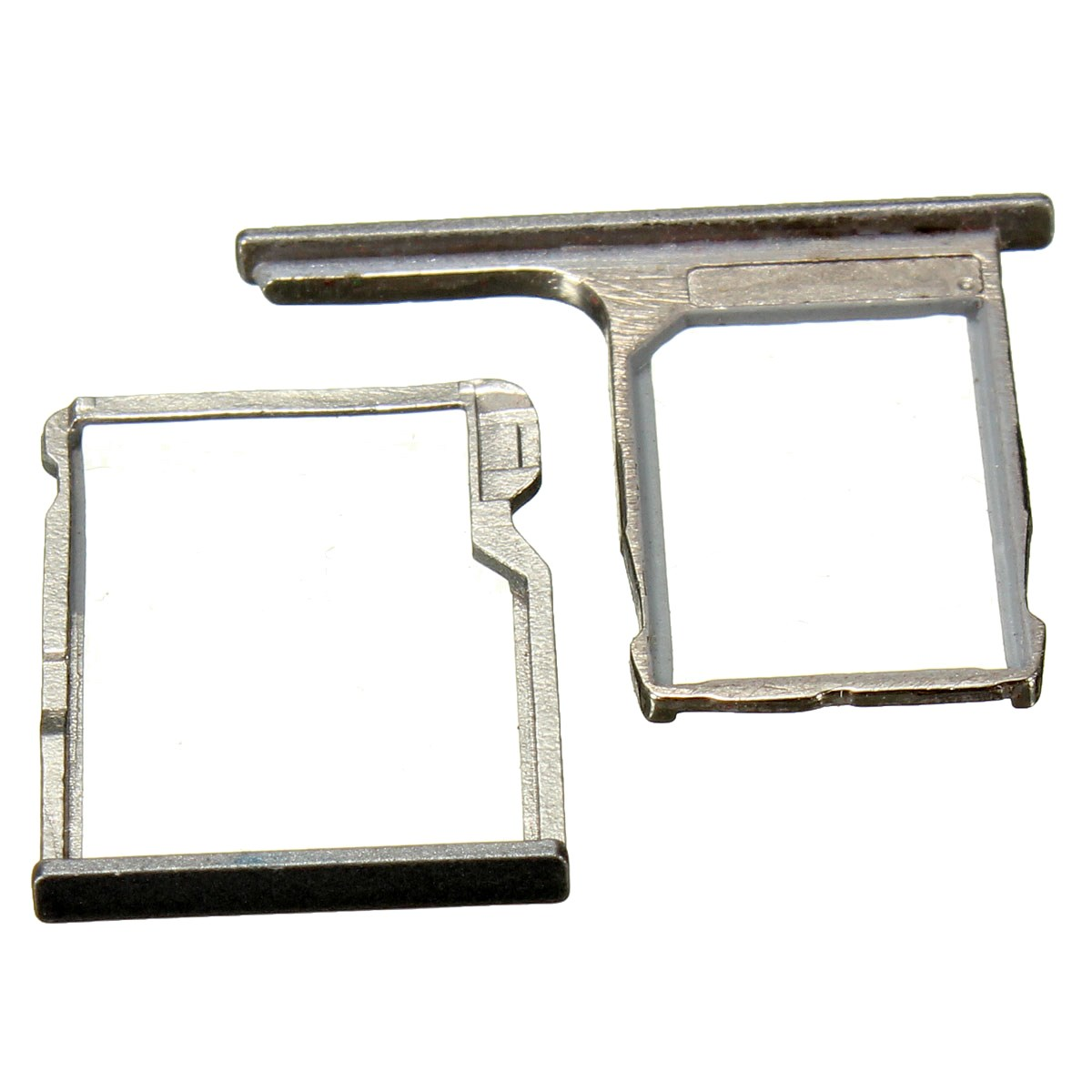 For HTC One M8 Wholesale SIM Card Tray Holder Slot Micro SD Card Memory Holder Replacement Gray Metal Parts Replacement