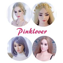 Sex doll head only love mannequin torso Full Silicone for male sex toys products oral sex love dolls(China)
