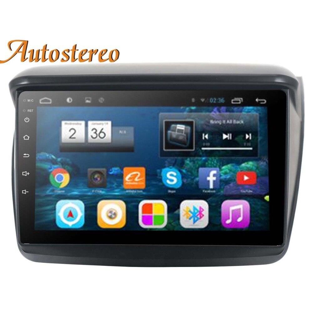 Android 8 Voiture Lecteur DVD GPS Navigation Pour MITSUBISHI Montero/L200/PAJERO SPORT/Nativa Radio magnétophone multimédia tête unité