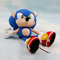 8'' 20cm Sonic the Hedgehog plush toys Sonic speed of sound Dolls kids gift 1pcs Free shipping