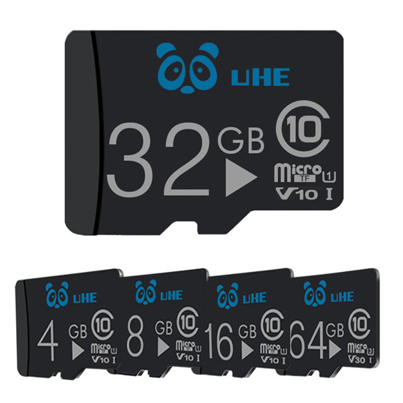 High Quality Micro Sd 32gb Memory Card 4GB 8GB 16GB Tf Cards 64GB C10 Tarjeta Microsd With Adapter Mini Gifts