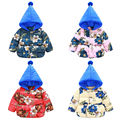 1-6Y Toddler Girls Kid Baby Winter Down Jacket Hooded Padded Coat Outerwear Snowsuit New