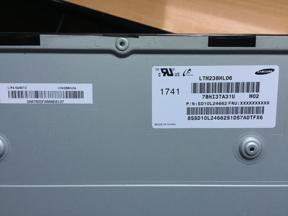 New screen display LCD modelo LTM238HL06 LTM238HL03 LTM238HL04 Para Lenovo AIO 520-24IKU 520-24IKL All-In-One PC