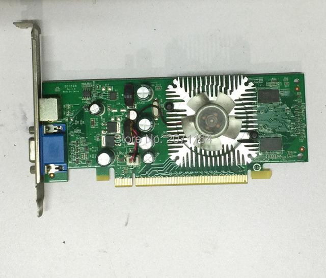 100 original para nvidia 7300le 128 m ddr2 pci-e placas gráficas de desktop placa gráfica