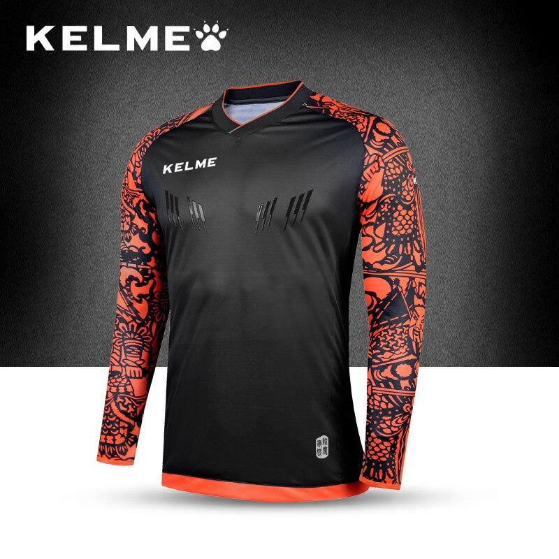 1f20955c3c3 KELME Europe Official Men s Survetement Football Jerseys 2017 Goalkeepers  Professional Tracksuit Soccer Goalkeeper Jersey 2016