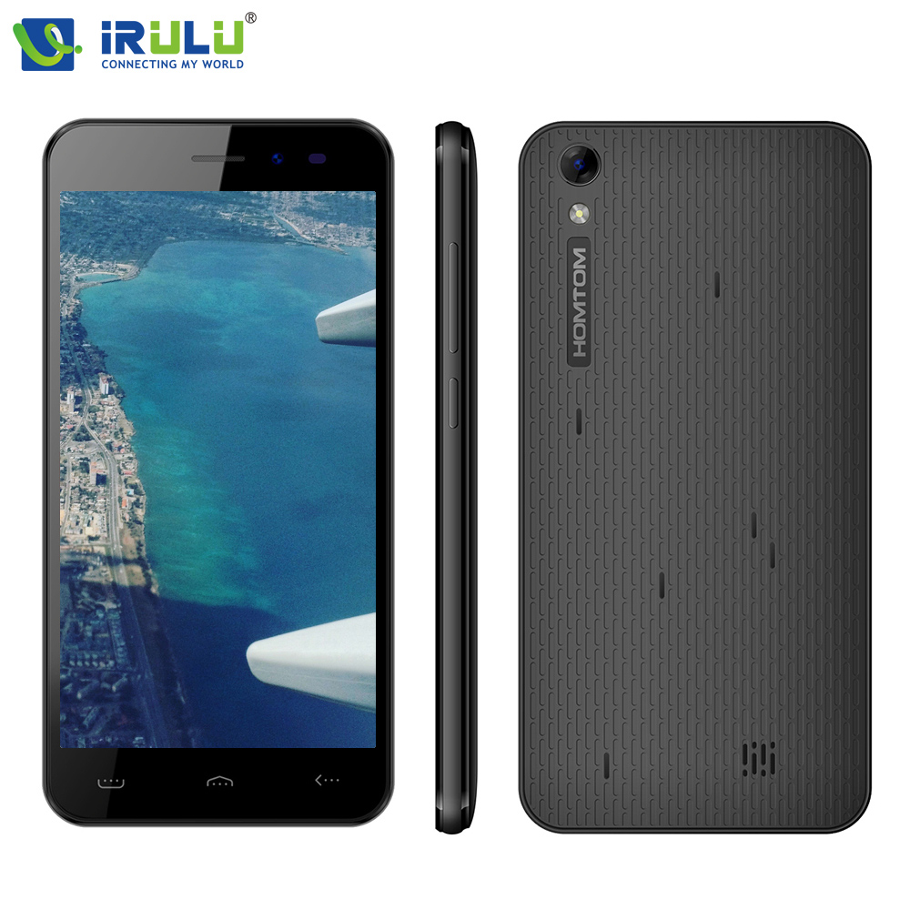 iRULU HOMTOM HT16 5 0 inch 1280x720HD MT6580 1 3 GHz Android 6 0 Quad Core