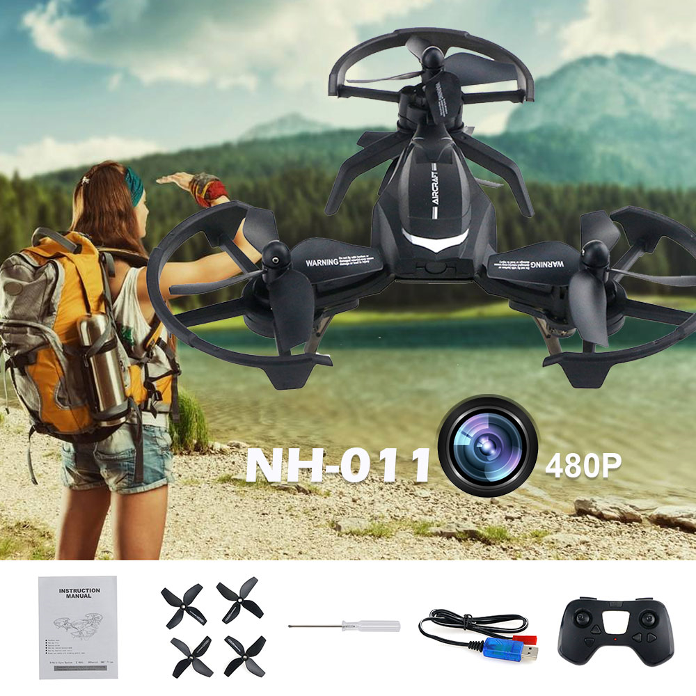 2018 Mini Drone RC Drone Quadcopters Headless Mode One Key Return RC Helicopter  Best Toys For Kids