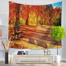 Beautiful Scenery 3D Bohemian Wall Hanging Bedroom Decoration Tablecloths  Beach Shawls Picnic Cloth Multi Functional
