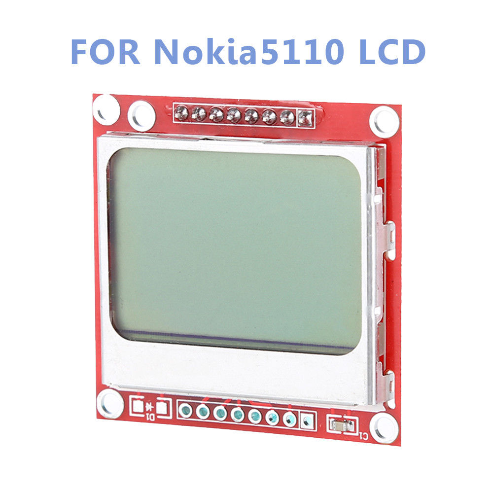 Keyes 84*48 Disassemble LCD Module White Backlight Control Adapter PCB For Nokia 5110 for arduino Free Shipping