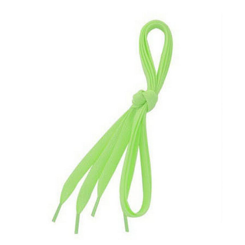 1Pair 100cm Flat Coloured Shoe Laces Luminous Shoelace Glow in The Dark Fluorescent Shoelace Athletic Sport Flat Shoe Laces 1pair 100cm sport luminous shoelace glow in the dark color fluorescent shoelace athletic sport shoe laces reflective shoelaces