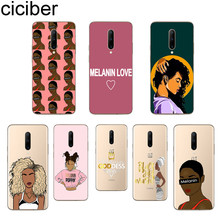 ciciber Melanin Poppin Phone Cases For Oneplus 7 Pro 1+7 Pro Soft TPU Back Cover for Xiaomi 9 Coque For Redmi Note 7 6 Pro Funda