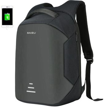 98e569dfbcdb Waterproof Antitheft USB Charging Backpacks