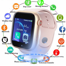 Smart Watch Men Women with SIM Card Camera Bluetooth Call Pedometer Message Reminder Phone Watch For Apple Android Watch Men цена
