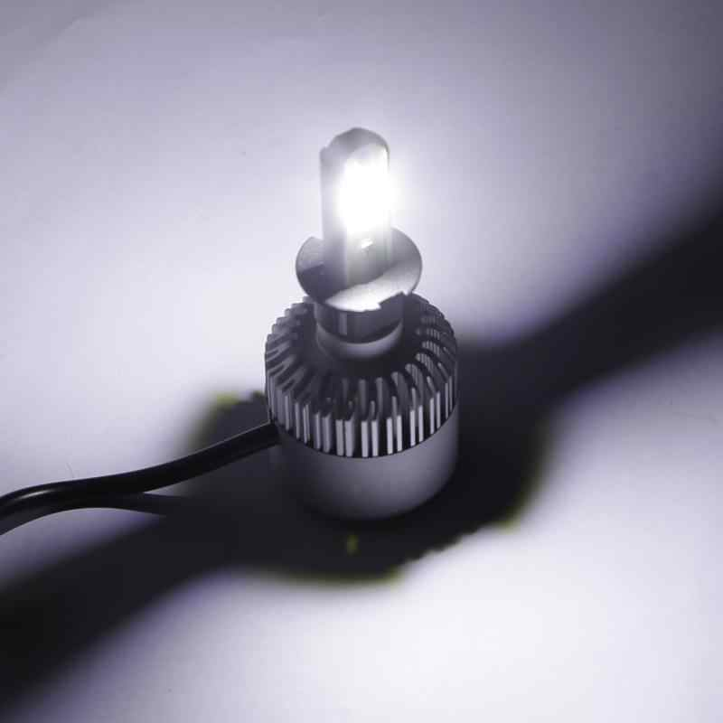 Oslamp مصابيح ليد لمصابيح السيارة الأمامية H3 LED رقائق البوليفيين سيارة المصابيح الأمامية شعاع واحد 7000LM 6500 K 12 v Led السيارات مصباح أمامي للسيارة