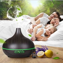 300ml Aroma Air Humidifier Essential Oil Diffuser Aromatherapy Electric Ultrasonic cool Mist Maker for Home 550ml air humidifier aromatherapy diffuser ultrasonic cool mist aroma humidifier led light for home spa essential oil diffuser