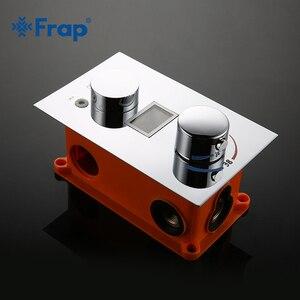 Image 4 - Смеситель для душа Frap, светодиодный, с цифровым дисплеем
