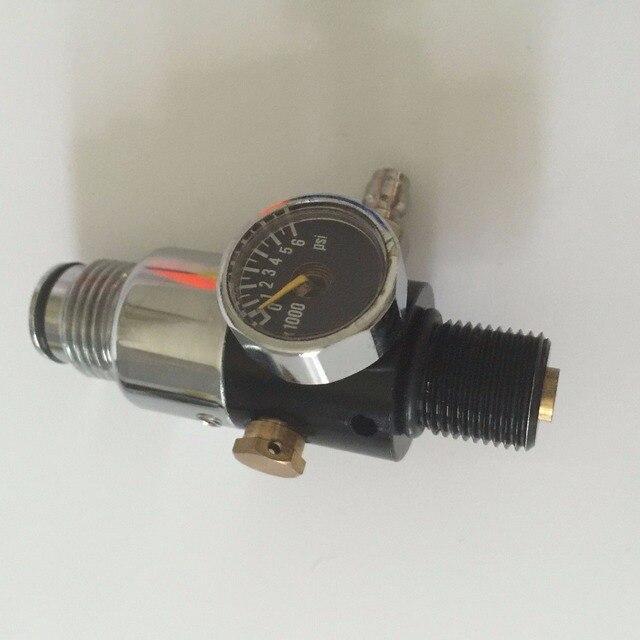 2016 Горячий Продавать Пейнтбол Оборудование CO2 Танк Регулятор Регулятор Давления Клапан для HP Бак с Заводской Цене --- S