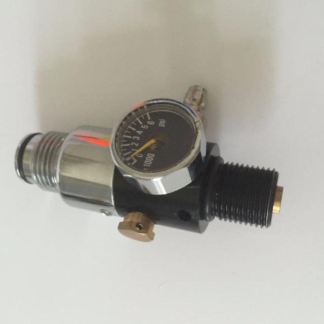 2016 venta caliente equipo de paintball tanque de co2 de la válvula reguladora de presión para hp tanque con precio de fábrica --- s