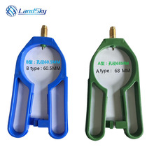 Automotive air conditioning refrigerant R134A bottle opener opened the valve CT006-AB Can Tap Dispensing Valve D=60.5MM D=68MM цена 2017