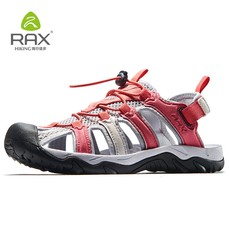 Rax 2018 Summer New Womens Hiking Shoes Breathable Outdoor Beach Quick Drying Water Shoes Women Lightweight Outdoor Jogging 466