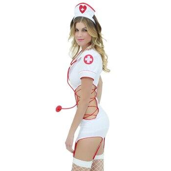 Sexy Nurse Costume 1