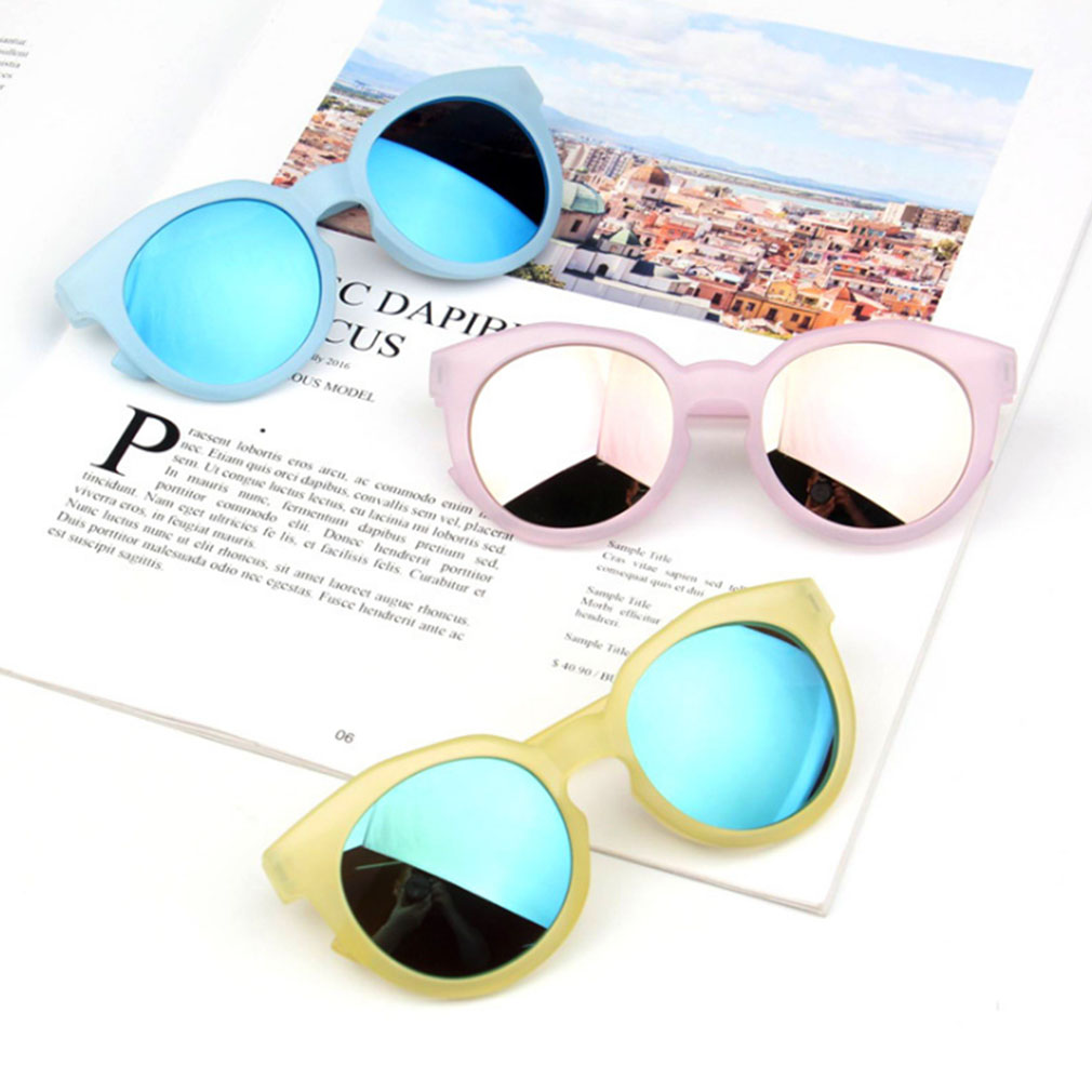 Kids Outdoor Anti Uv Sunglasses Eyewear Boys Girls Glasses Reflective Mirror Brille Rahmen Uv400 Jungen Kleinkind Shades Goggles Gags Practical Jokes Aliexpress