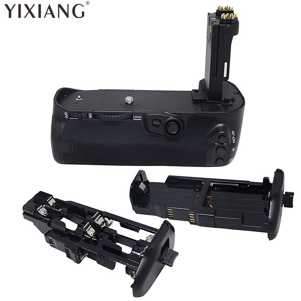 YIXIANG Pro Vertical Battery Grip for Canon EOS 7D2 7D Mark II 2 As BG-E16 mcoplus bg 7d vertical battery grip with 2pcs lp e6 batteries for canon eos 7d camera as bg e7 meike mk 7d