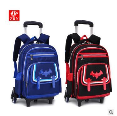 kid rolling school backpack Children wheeled school backpack for Boys kid School Trolley backpack School backpack bag on wheels