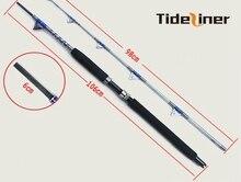 1.98m Heavy duty boat fishing rod carbon raft  jigging trolling rod fishing pole saltwater rod