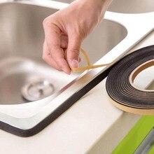 Multifunción moho autoadhesiva adhesiva accesorios de baño pared sellado cinta cocina 1 rollo cintas adhesivas