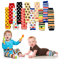 Cute Baby Leg Warmers Knitted Kneepads for Children Ainimal Kids Leg Warmers Pack of 5-Pairs