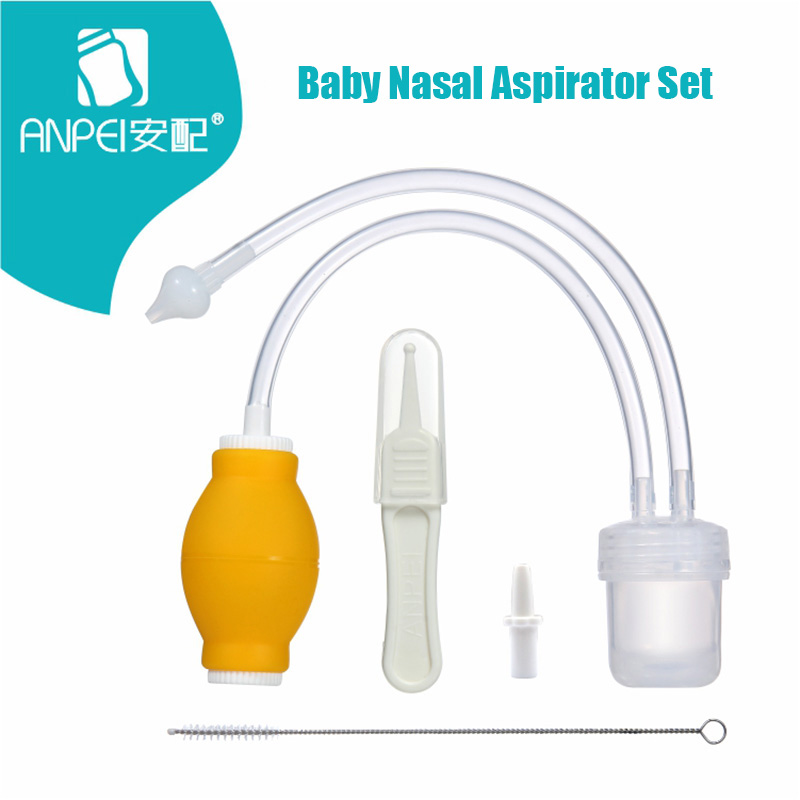 Baby Nasal Aspirator Set Baby Care Products Anti-backwash Device Vacuum Suction Newborn Nose Aspirator Cleaner Snot Nose Cleaner ...