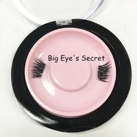 Top Quality 8Pcs Human Hair Magnetic Eyelashes 3D Reusable Full False Magnet Eyelashes Natural Lashes Extension