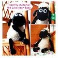 Shaun The Sheep Cordeiro Forma Brinquedos Boneca de Pelúcia Para O Miúdo Crianças Presentes Decoração Da Sua Casa