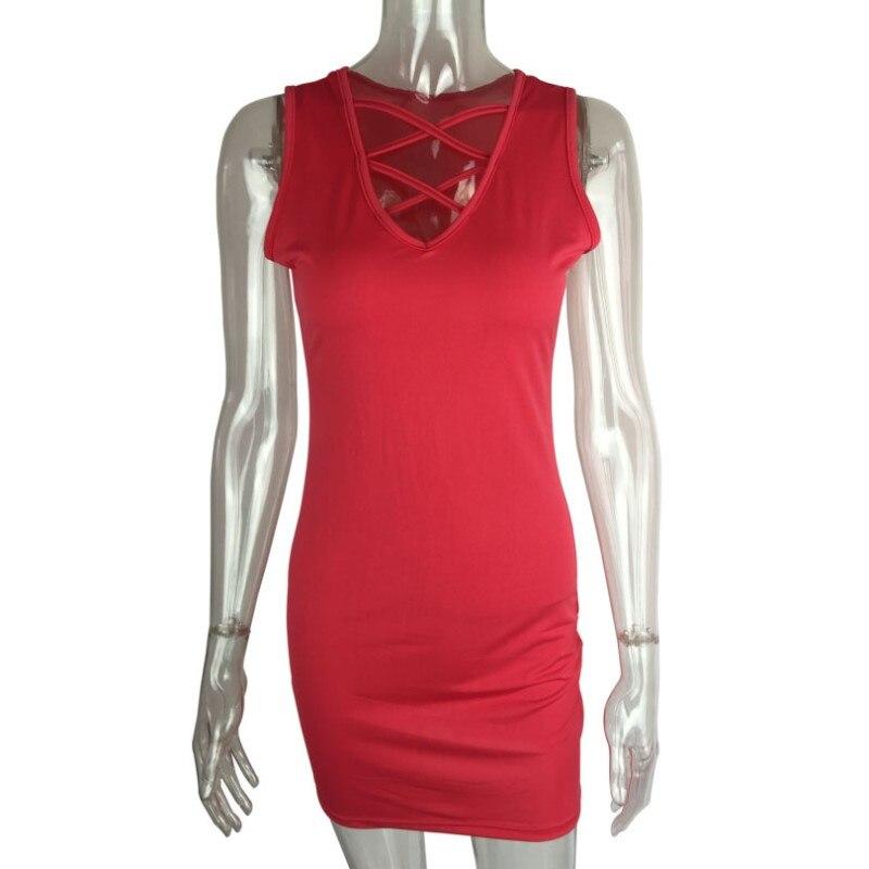 summer dress 2018 women bodycon bandage dress plus size cross neck pencil work short dress elegant runway dress robe femme XSL20