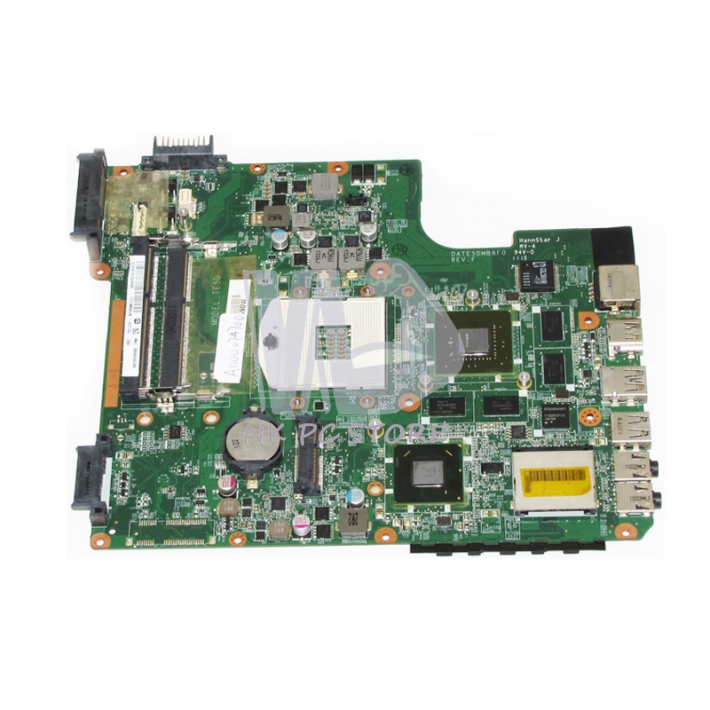 Здесь продается  NOKOTION A000074700 DATE5DMB8F0 Main Board For Toshiba Satellite L700 L745 Laptop Motherboard HM65 DDR3 GT525M 1GB  Компьютер & сеть