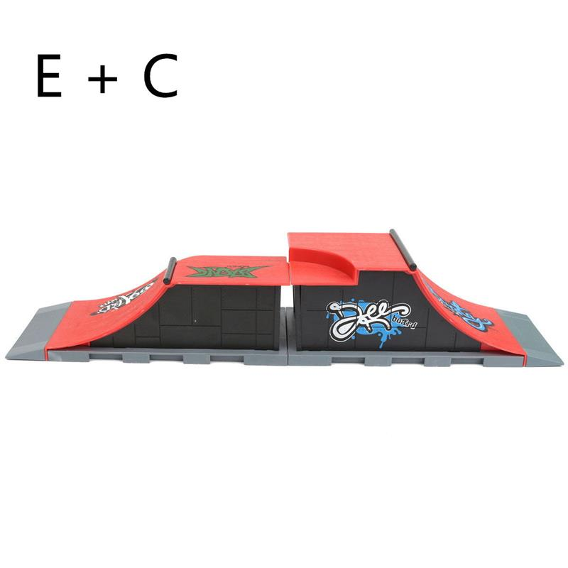 Diy 1 pc A-F site skate parque
