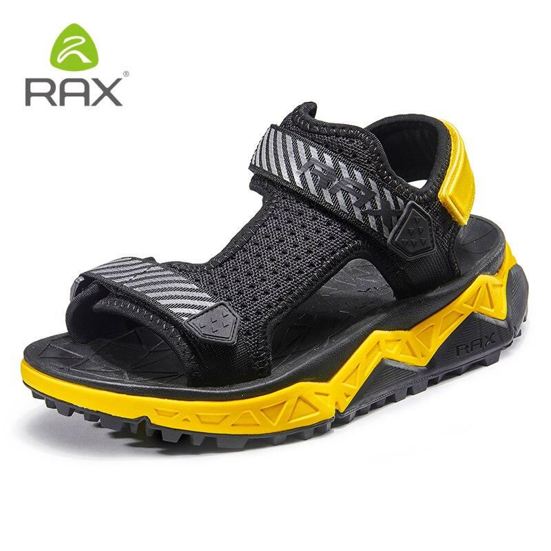 Rax sandales d'été pour hommes chaussures de plage sandales d'extérieur pour femmes chaussures de Trekking pour hommes chaussures Aqua chaussures de pêche chaussures rapides