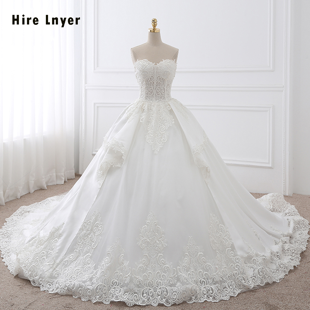 Najowpjg New Special Luxury Wedding Dresses 2019 Online Shop China Vestido De Vasamento Gorgeous Bridal Gowns With Petticoat