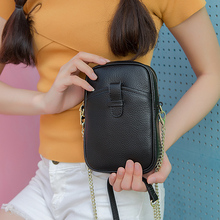 BAQI Women Shoulder Bag Small Genuine Cow Leather 2019 Fashion Women Messenger Crossbody Bag Casual Flap Purse Phone Bag Ladies vintage studs designer genuine cow leather women s wristlets bag ladies rivets messenger bag thin purse girl cross shoulder bag