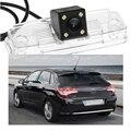 1 шт. водонепроницаемый CCD автомобильная вида обратный резервный парковочная камера для Citreon C4 2010 - 2012