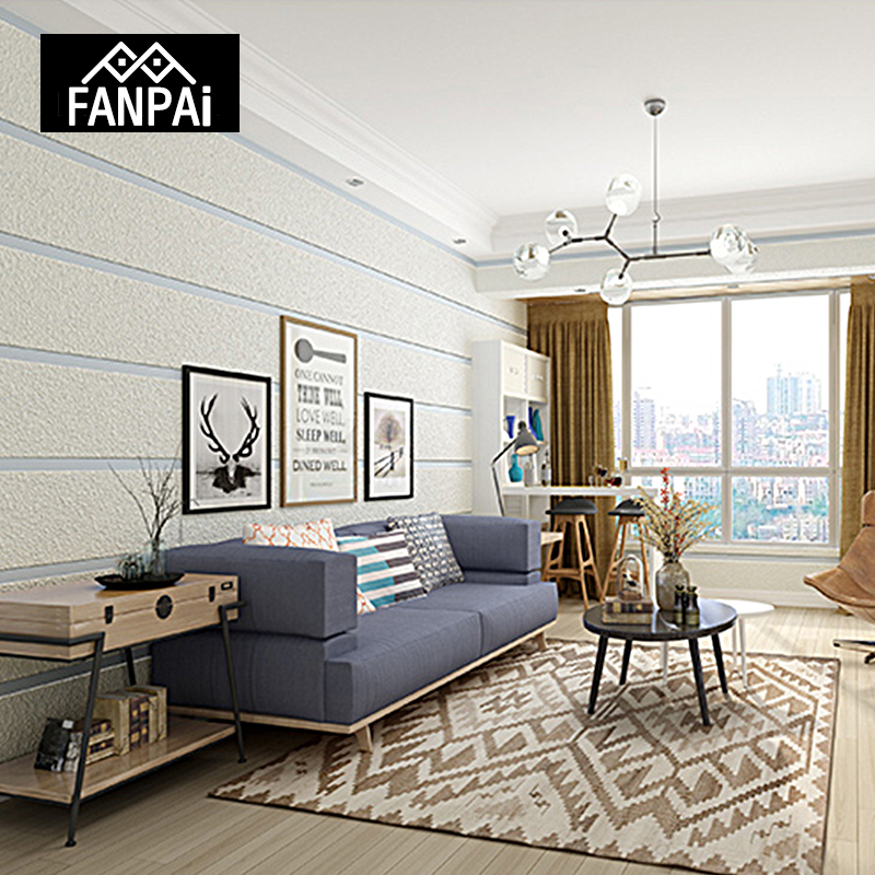 FANPAI Luxury 3D Stereoscopic Modern Wallpaper Roll Non-woven Fabric Wall Papers Bedroom Living Room TV Background Wall Paper modern 3d wallpapers fashion purple grey stripe wallpaper for walls living room wallpaper roll non woven wall paper for bedroom