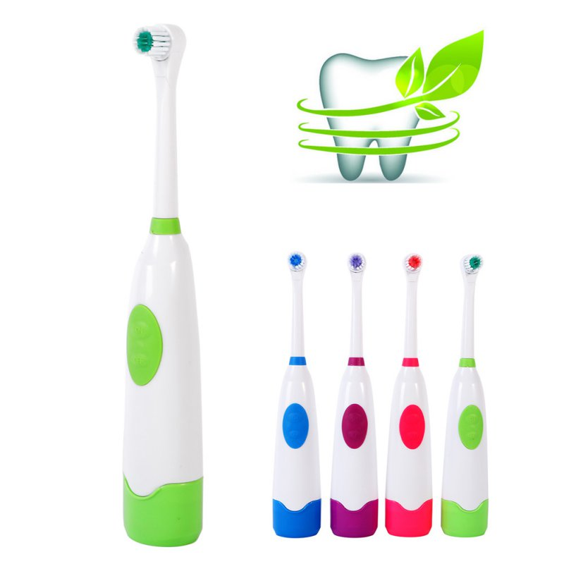 Oral Hygiene Tooth Brush Adults Children Electric Toothbrush sets 1pcs Body+4 Brush Head+ 1pcs  Base+4 Plastic Cover For Brushs 2pcs philips sonicare replacement e series electric toothbrush head with cap