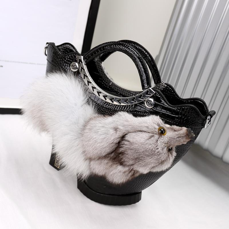 Unterstützung Kits Fuchs Ban Tropfen Casual High Taschen Handtasche Damen Tasche Verschiffen Neue Headwear Ornamente 0die Heels Us86 In MVUzSp